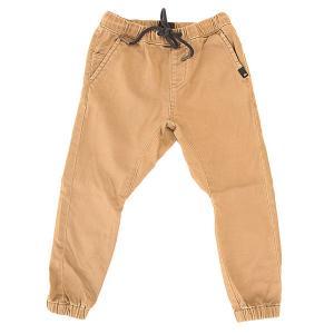 Штаны прямые детские  Fonic Boy Elmwood Quiksilver. Цвет: бежевый