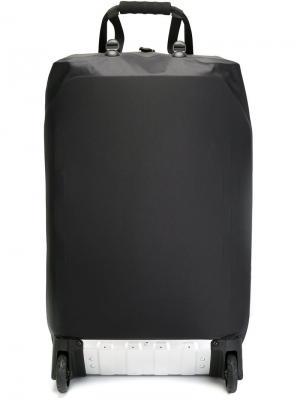 Дорожная сумка на колесиках 11 By Boris Bidjan Saberi. Цвет: чёрный