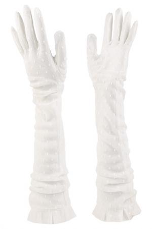 Перчатки Agnelle. Цвет: белый