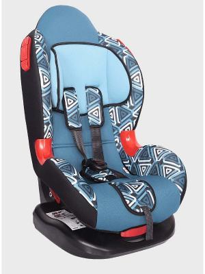Детское автомобильное кресло КОКОН коллекция ART SIGER. Цвет: голубой