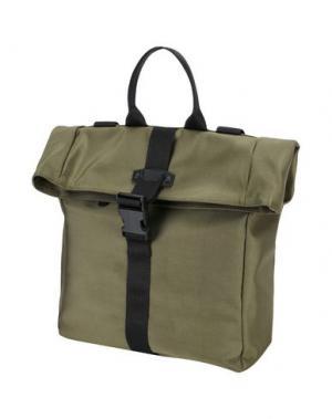 Рюкзаки и сумки на пояс BORSETTERIA Napoli 1985. Цвет: зеленый-милитари