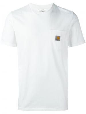 Футболка Pocket Carhartt. Цвет: белый