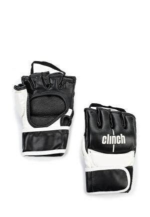 Перчатки Clinch. Цвет: черный