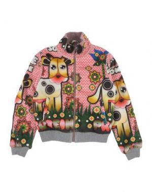 Куртка CUSTO GROWING. Цвет: лососево-розовый