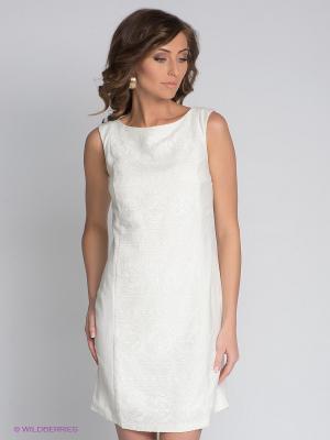 Платье APART. Цвет: молочный