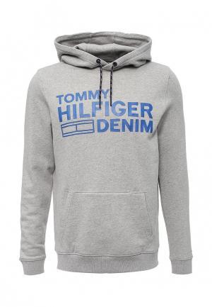 Худи Tommy Hilfiger Denim. Цвет: серый