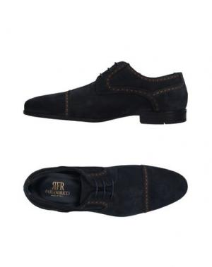 Обувь на шнурках FABIANO RICCI. Цвет: темно-синий