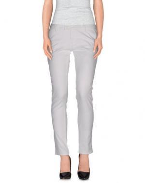 Повседневные брюки DUCK FARM. Цвет: белый