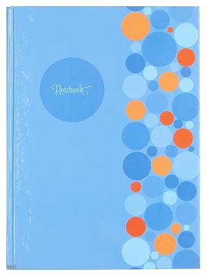 Книга для записей Офисный стиль Яркие акценты Канц-Эксмо. Цвет: оранжевый