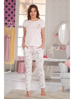 Комплект женский SEVIM. Цвет: бледно-розовый