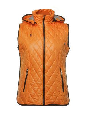 Жилет H&H.. Цвет: оранжевый