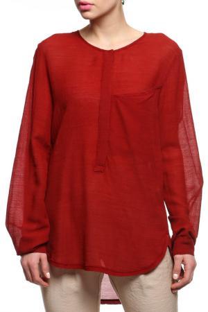 Рубашка Alysi. Цвет: красный