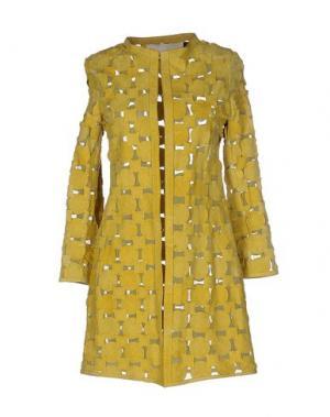 Легкое пальто CABAN ROMANTIC. Цвет: кислотно-зеленый