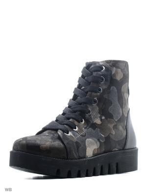 Ботинки Dino Ricci. Цвет: черный, хаки