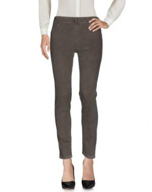 Повседневные брюки BIANCALANCIA. Цвет: серый