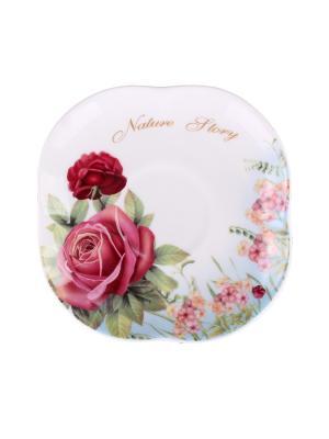 Набор чайный 4 пр. 220 мл. PATRICIA. Цвет: розовый
