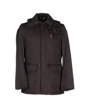 Куртка PIERO GUIDI. Цвет: темно-коричневый