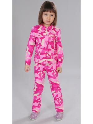 Комплект одежды Милашка Сьюзи. Цвет: фуксия