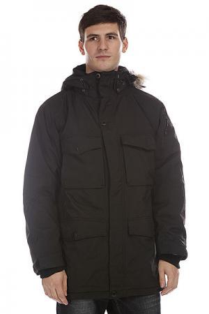 Куртка парка  Saltlake Black Dickies. Цвет: черный
