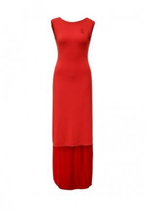 Платье Sahera Rahmani. Цвет: красный