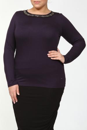 Блуза PER TE BY KRIZIA. Цвет: фиолетовый