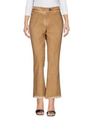 Джинсовые брюки COLLECTION PRIVĒE?. Цвет: верблюжий