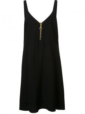 Платье на молнии Ellery. Цвет: чёрный