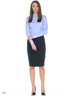 Рубашка MERCEDES-BENZ. Цвет: синий