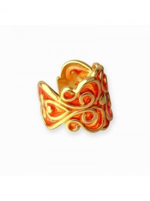 Каффа KU&KU. Цвет: красный, золотистый, оранжевый