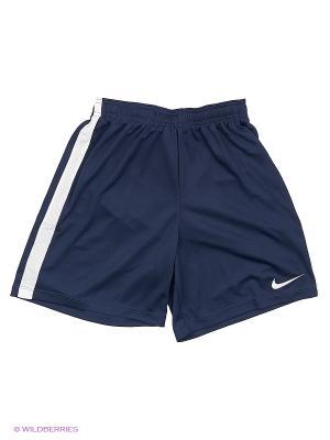 Шорты Y NK DRY ACDMY SHORT K Nike. Цвет: синий