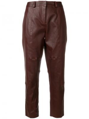 Укороченные брюки Inès & Maréchal. Цвет: розовый и фиолетовый