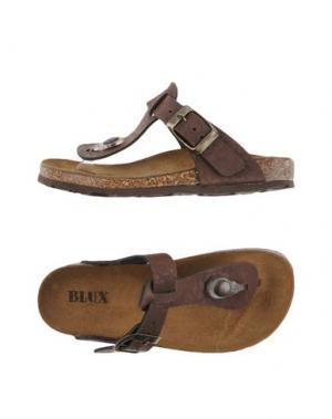 Вьетнамки BLUX. Цвет: темно-коричневый