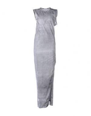 Длинное платье MARTA MARTINO. Цвет: светло-серый