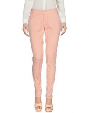 Повседневные брюки ATELIER FIXDESIGN. Цвет: телесный