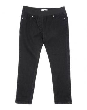 Джинсовые брюки TO BE TOO. Цвет: черный