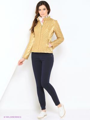 Куртка Lanicka. Цвет: золотистый