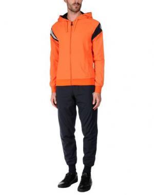 Спортивный костюм EA7. Цвет: оранжевый
