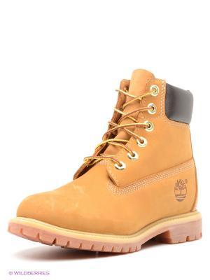 Ботинки TIMBERLAND. Цвет: горчичный