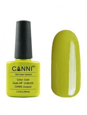 Гель лак №167 CANNI. Цвет: светло-зеленый