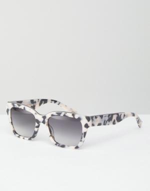 Marc Jacobs Квадратные солнцезащитные очки. Цвет: мульти