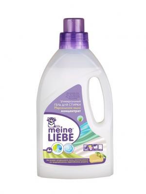 Универсальный гель для стирки Марсельское мыло концентрат, 800мл MEINE LIEBE. Цвет: белый