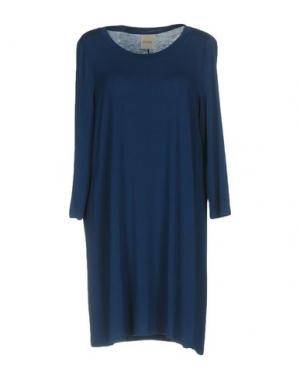 Короткое платье ELVINE. Цвет: темно-синий