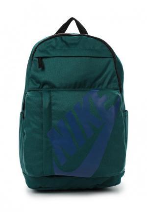 Рюкзак Nike. Цвет: зеленый