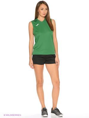 Майка спортивная COMBI Joma. Цвет: темно-зеленый