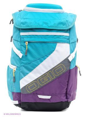 Рюкзак Ogio. Цвет: голубой, фиолетовый