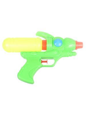 Водный пистолет, зеленый Радужки. Цвет: светло-зеленый, желтый