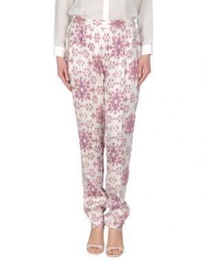 Повседневные брюки BAJA EAST. Цвет: слоновая кость