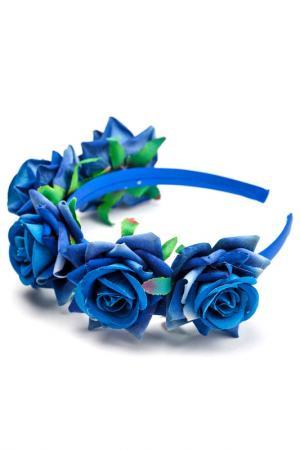 Ободок TELLE QUELLE. Цвет: синий