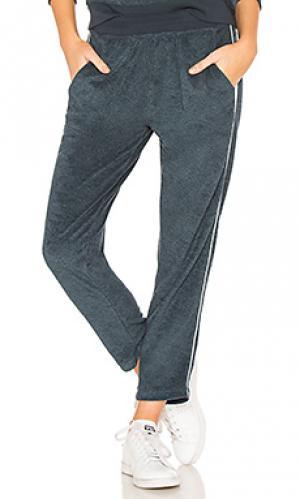 Укороченные брюки practice Splits59. Цвет: синий