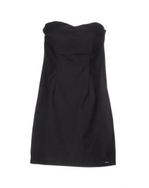 Короткое платье MORGAN DE TOI. Цвет: стальной серый